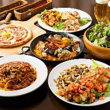 イタリアン&スペイン料理を堪能