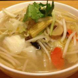 さっぱり野菜麺(素菜刀削麺)