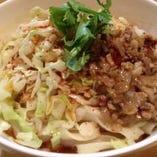 ぺペロンチーノ風ユーポー麺(油溌麺)