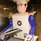 テレビで見た?刀削麺ロボの働きを生で体験!