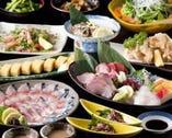 冬季の「ご宴会・単品コース」←飲み放題付きプラン!!    【コースは前日要予約:ご参考用】
