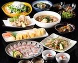 冬の「ご宴会・コース料理」←お料理のみ!! 【コースは前日要予約:ご参考用】