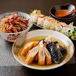 《京のおばんざい》 京野菜を使ったおばんざいは10種類をご用意