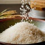 《銀シャリ》 定番と月替わり米をご用意!2種類を堪能できます