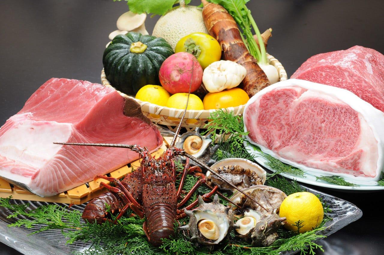 三重県の厳選した旬の食材を堪能