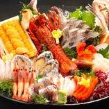 【各地名産】新鮮魚介【大阪市中央卸売市場】