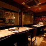 【12〜16名様】テーブル個室 プライベートな空間は女子会などに最適