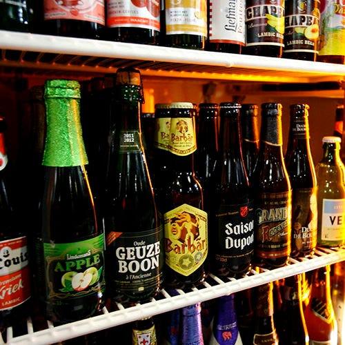 飲み放題時間内は 追加のベルギービール50%OFF!