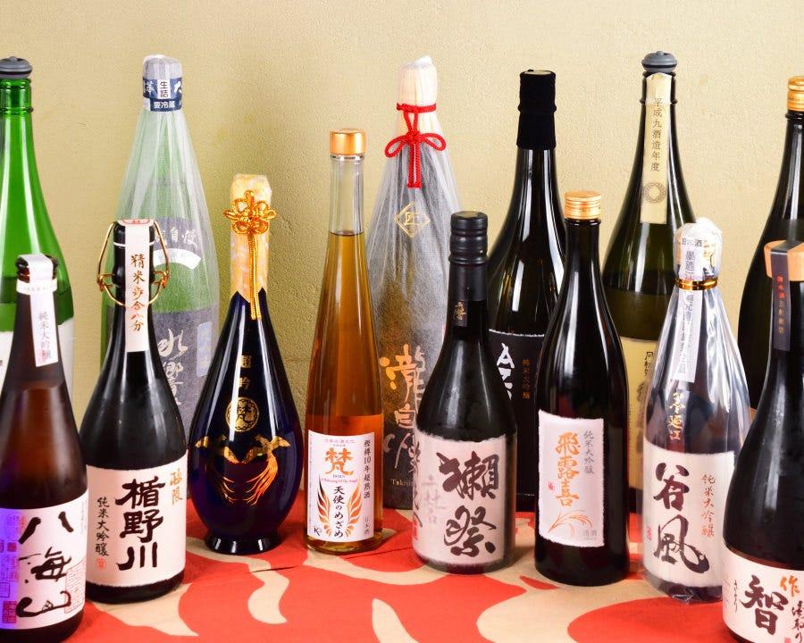 最上級の日本酒が手頃に楽しめる