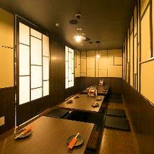 小宴会にぴったりな個室