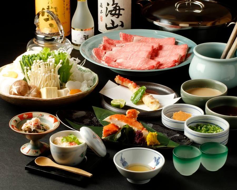 和牛すき焼き・しゃぶしゃぶ食べ放題