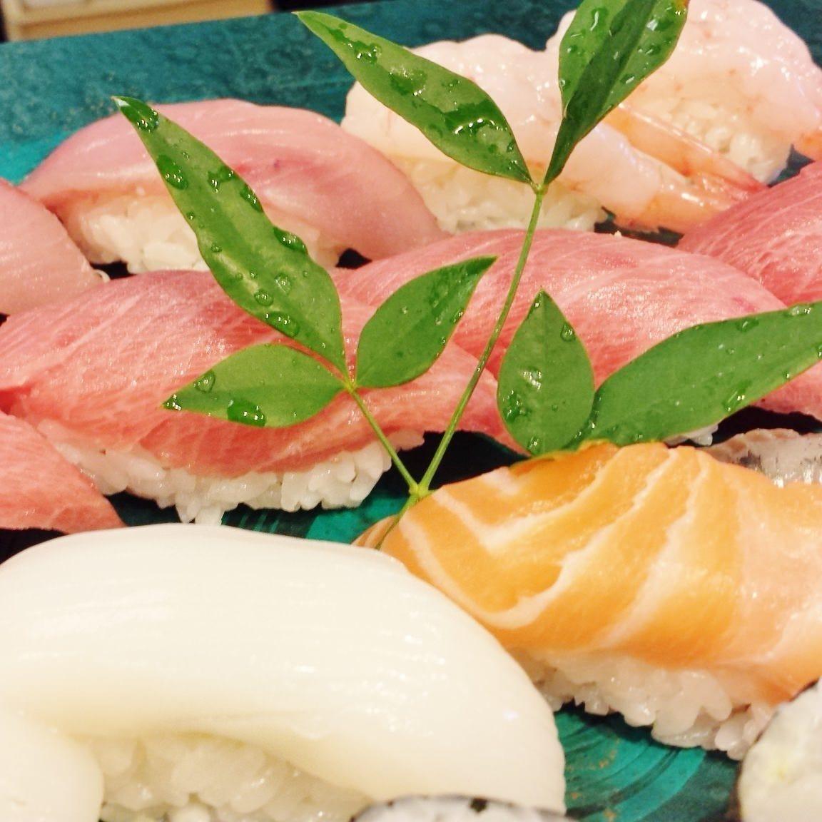 老舗の味!本格江戸前寿司