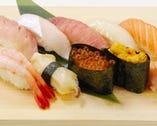 お寿司盛り合わせ☆ 子供に大人気!単品もご用意しております。