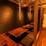 ★個室や半個室、テーブル席、フロア貸切など色々な席をご用意しております★