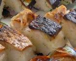 焼きサバ棒寿司
