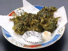 青さ海苔天ぷら