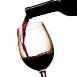 12種類のグラスワイン、いろいろ変わって楽しめますよ♪