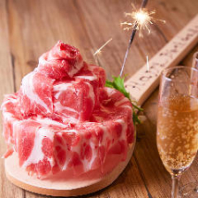 SNS映え『肉ケーキ』♪