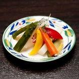 ポリポリ野菜のピクルス