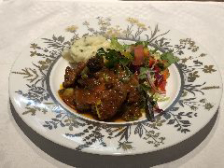 ランチTAKEOUT限定 本日のパスタと肉料理とサラダのセット