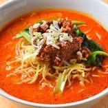 味わい深いスープが絶品の『タンタンメン』
