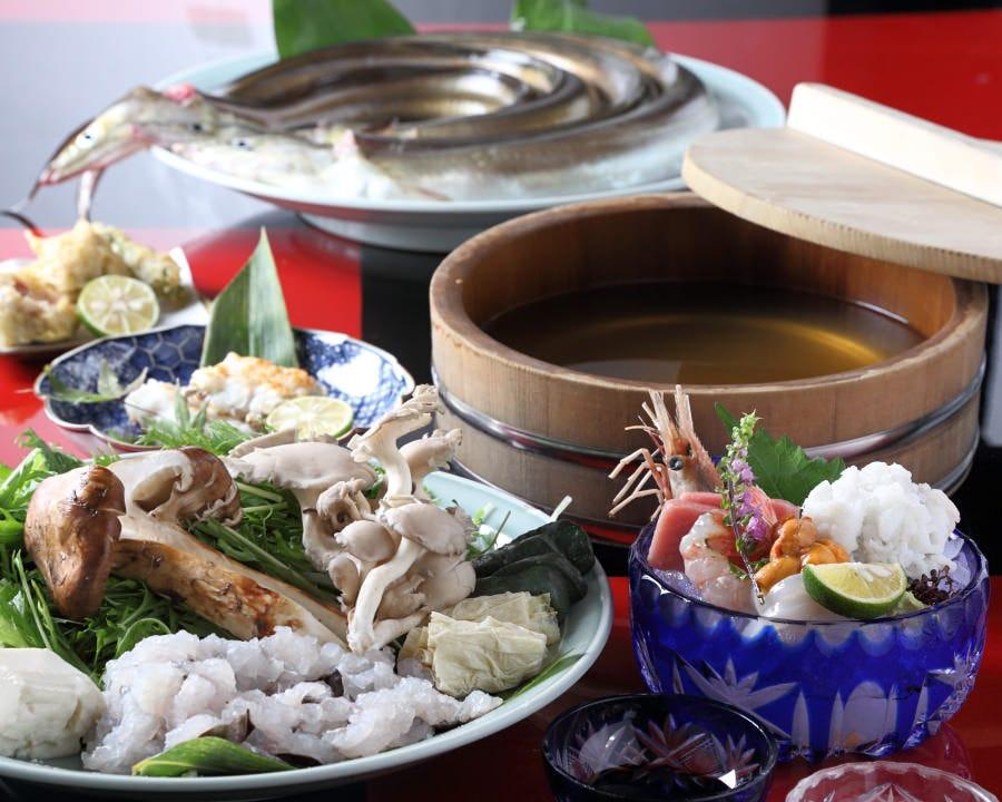京の鱧料理に舌鼓…