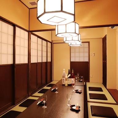 肉と魚とめん料理 なにがし こころ 稲沢店 店内の画像