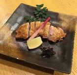甲州地鶏天然塩焼