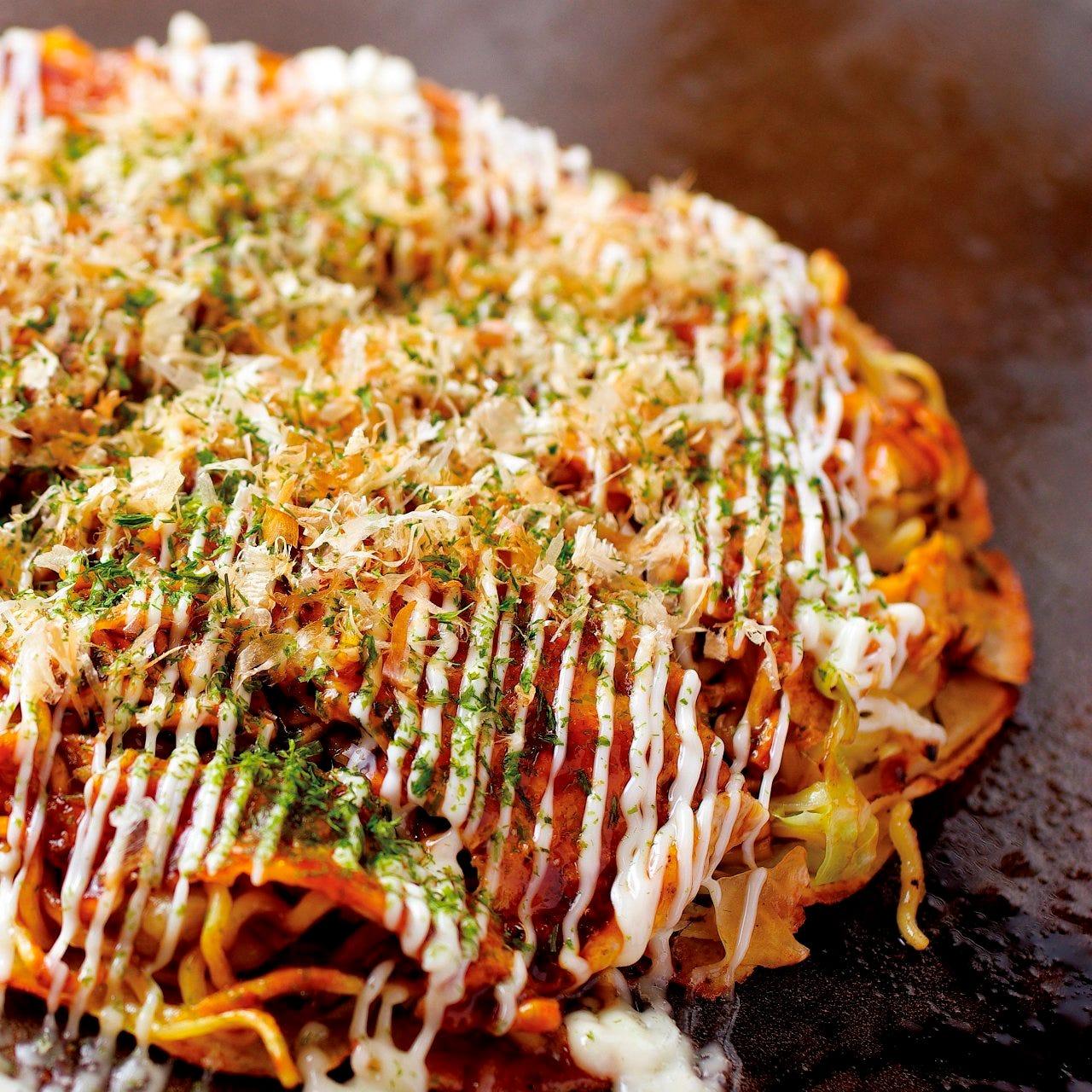本場広島の味にこだわったお好み焼き