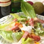 今日の旬菜サラダ