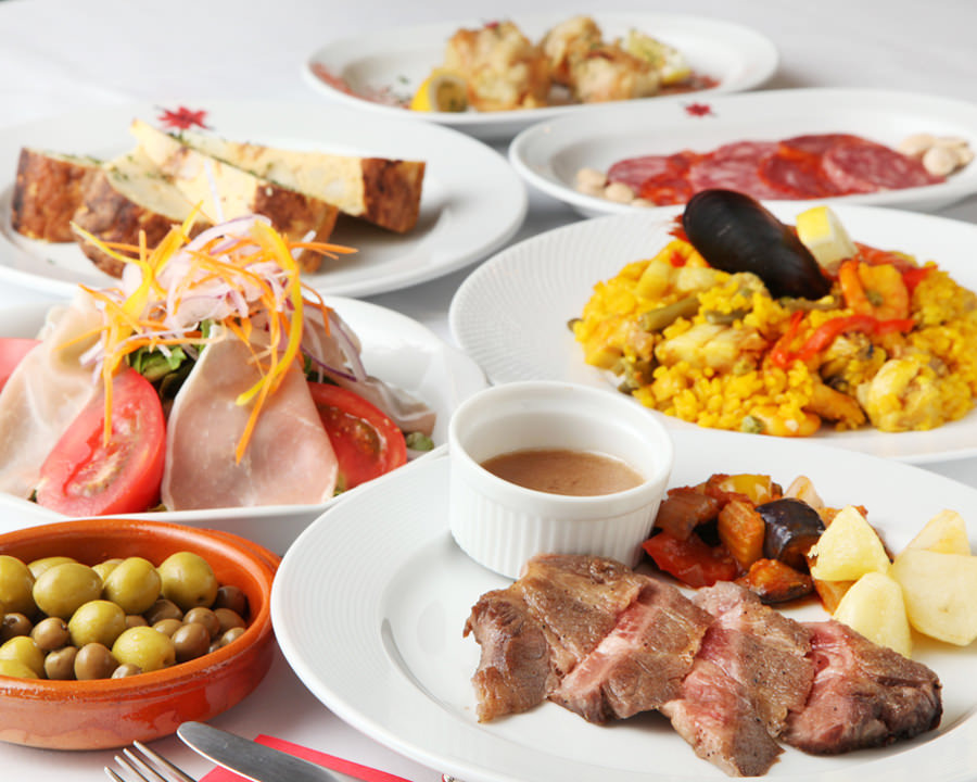 スペイン料理を貸切プランで堪能できます♪5500円~