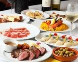 《全9皿+バケット食べ放題付》 大皿贅沢パーティープラン