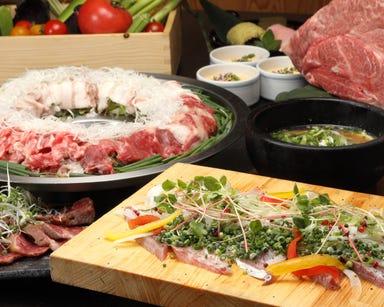 個室塊肉と炊き肉 和牛アカデミー 静岡呉服町店 コースの画像