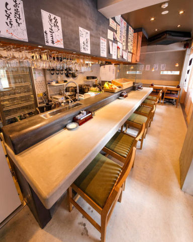 天ぷら酒場 ててて天 一番町  店内の画像
