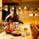 天ぷらをツマミに美味しいお酒を是非!
