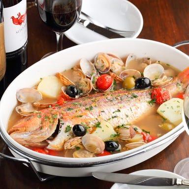 魚イタリアン 神楽坂 y cucina コースの画像