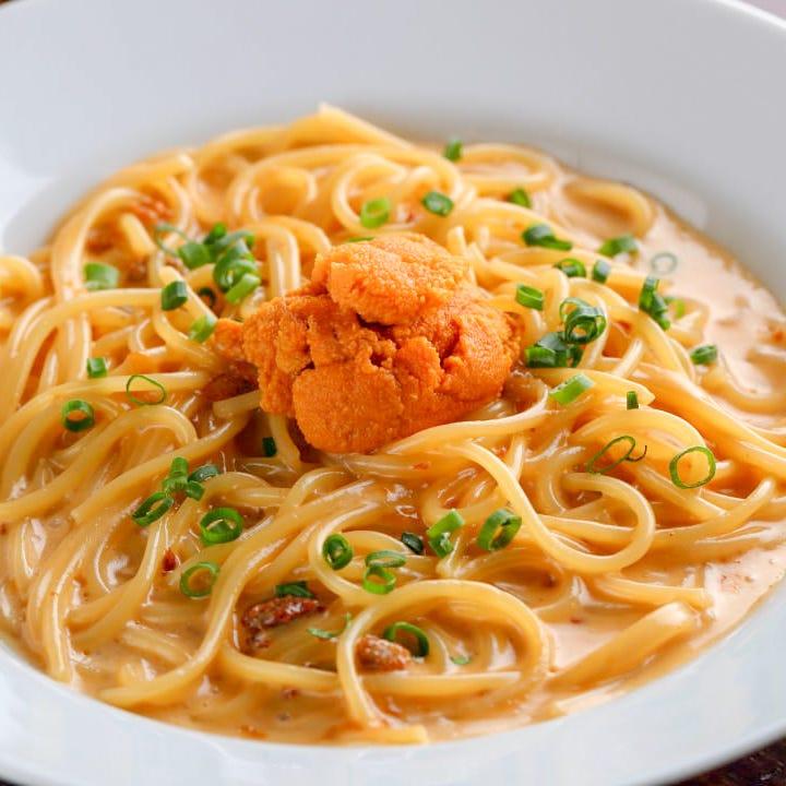 大人気!!ウニのクリームスパゲッティ