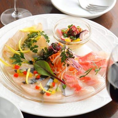 魚イタリアン 神楽坂 y cucina メニューの画像