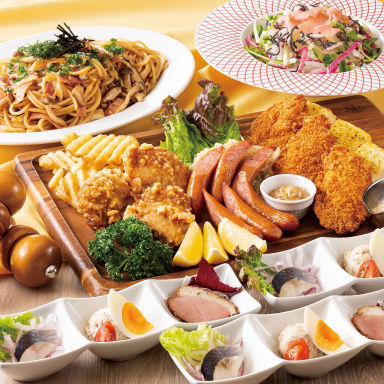 銀座ライオン 羽田空港マーケットプレイス店 コースの画像