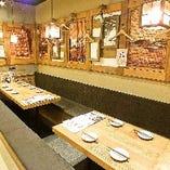 ☆12名様までOK☆プライベート感のある宴会可能なテーブル席