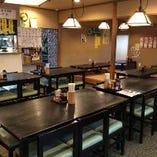 食堂テーブル席(20席)