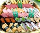 お寿司ご予約承り中 1100円〜お好きなネタご相談下さい