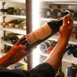ワイン初心者の方にはスタッフがオススメをご紹介することも可能