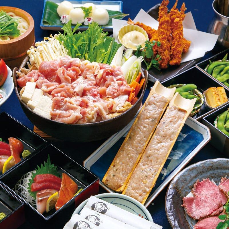 ≪お手軽コース≫牡蠣味噌鍋全8品+2H飲み放題付き3990円