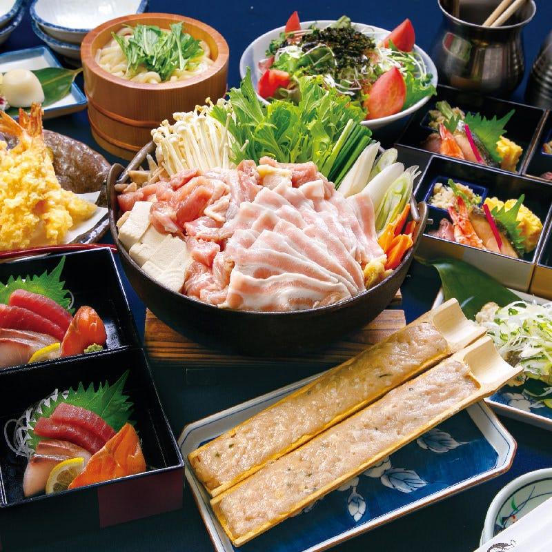 【厳選】≪大江戸コース≫大江戸肉ちゃんこ鍋全8品+2H飲み放題付き4990円