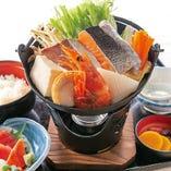 海鮮ちゃんこ鍋定食