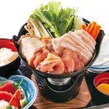 肉ちゃんこ鍋定食