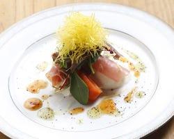 五感で楽しむ和食をご提供・・ 目でも楽しめるお料理の数々。
