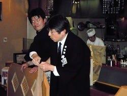 日本酒の会も不定期で開催してます♪