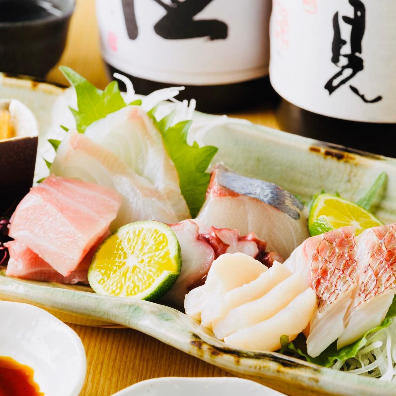 旬魚を使ったお料理